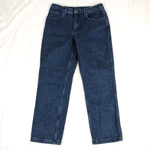Duluth Trading Co. Flannel Lined Jeans 10 x 33